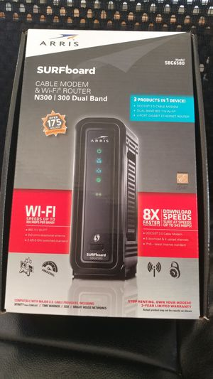Cable modem and Wi-Fi router for Sale in Woodburn, OR