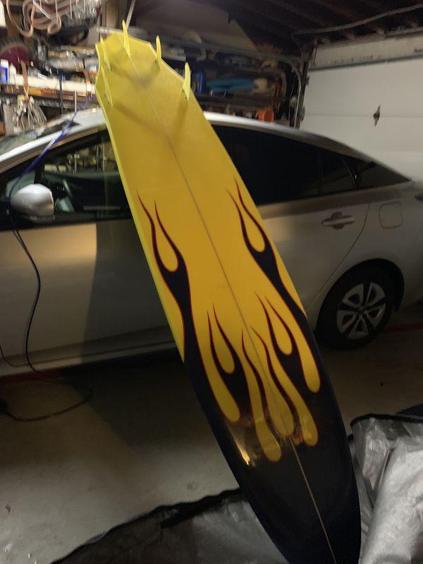 Longboard, surf board