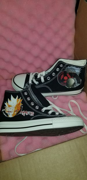 Naruto converse shoes brand new for Sale in Cleveland, OH