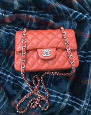 Red Chanel Flapbag for Sale in Sacramento, CA