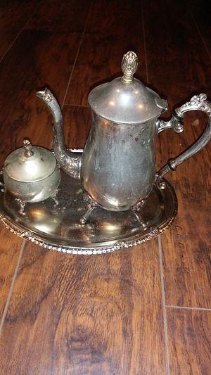 Tetera antigua de plata for Sale in Houston, TX