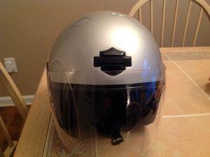 Revitz motorcycle jacket. Like new! $165 or best offer! Harley Davidson DOT approved Helmet! $65 or best offer! for Sale in West Windsor Township, NJ