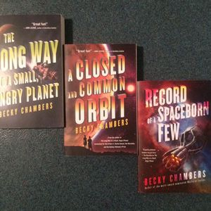Wayfarer Series Book Collection by Becky Chambers (Three First Edition Books) for Sale in Berkeley, CA