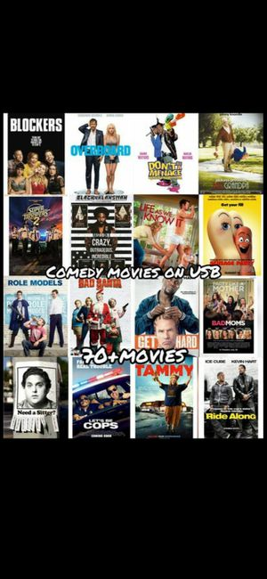 70 Action movie's on usb for Sale in Bellflower, CA