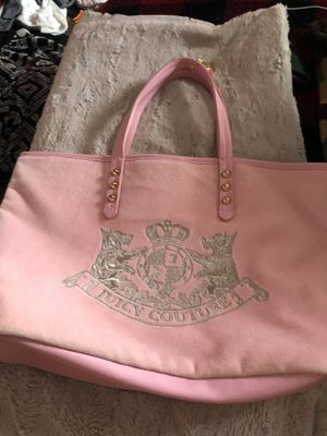 2 Purses, 1 Juicy Couture and 1 Brown Bag. for Sale in Payson, AZ