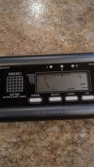 Seiko Sat 100 Guitar and Bass Tuner for Sale in Hoquiam, WA
