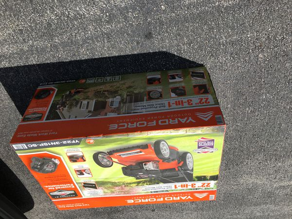 Yard force gas mower