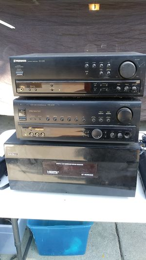 Cheap Pioneer receivers in 1 Caveli receiver each going for $80 each for Sale in Oakdale, CA