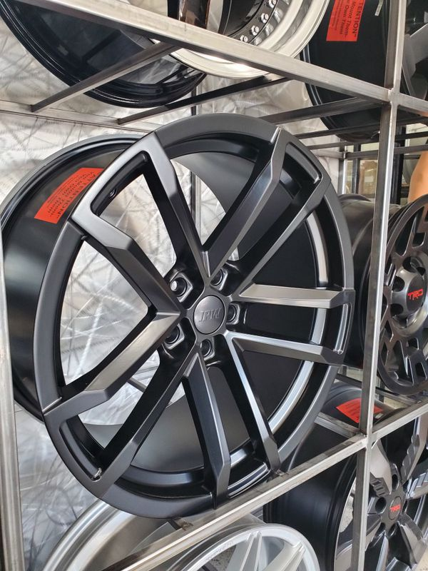 Satin black Zl1 style Camaro wheels fits 2010-2019 camaro 5x120 wheel tire rim shop