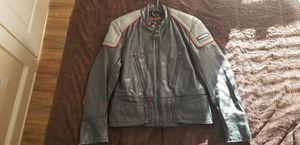 Men's Hein Gericke Honda Motorcycle Jacket 100% Leather for Sale in Atlanta, GA