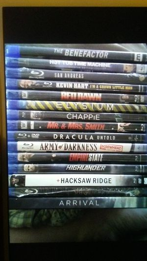 BRAND NEW BLU RAY MOVIES for Sale in Highland, CA