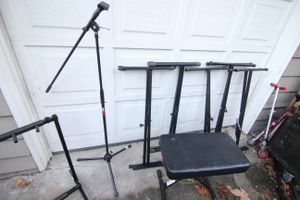 Music Equipment Stands (prices in description) for Sale in Woodway, WA