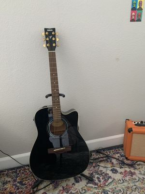 Yamaha FX335C Electric Acoustic Guitar - Free Bag for Sale in San Diego, CA