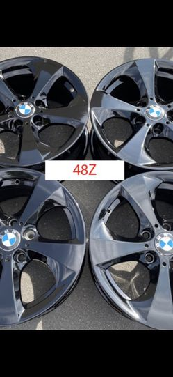 "17"" New Black 320i 325i 328i 330i Z3 Z4 Wheels OEM Rims 48Z for Sale in Diamond Bar,  CA"
