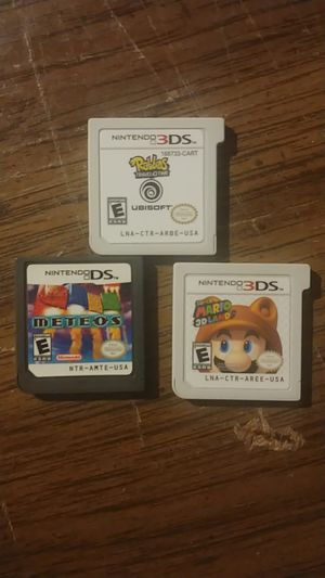 Nintendo 3ds games super mario for Sale in Fircrest, WA