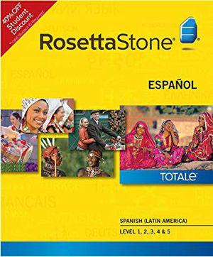 Rosetta Stone Para Aprender Inglés Curso Completo for Sale in Riverside, CA