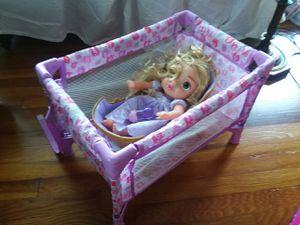 Baby in crib. for Sale in Warren, MI