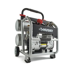 Husky 4.5 Gal. Portable Electric-Powered Silent Air Compressor for Sale in Baltimore, MD