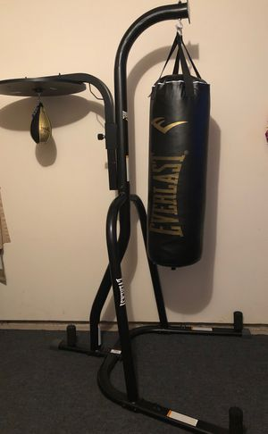 Everlast Heavy Bag & Speed Bag Stand for Sale in Glenwood, OR