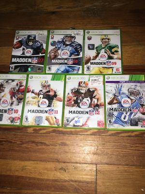 Madden NFL for Sale in Winter Hill, MA
