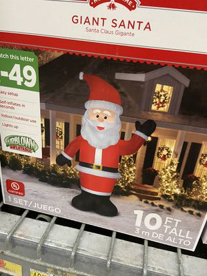 New Santa Claus outdoor decoration Christmas Xmas for Sale in Lake Worth, FL