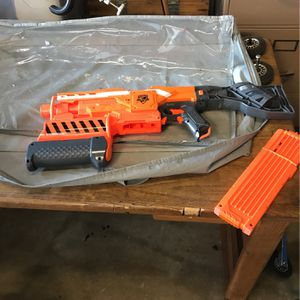 automatic nerf gun great shape for Sale in Huntington Beach, CA