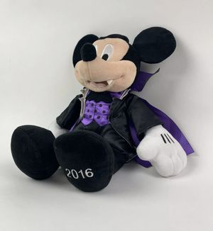 """Disney Collection Mickey Mouse Vampire Dracula 2016 Plush Soft Toy 13"""" Stuffed for Sale in Tucson, AZ"""