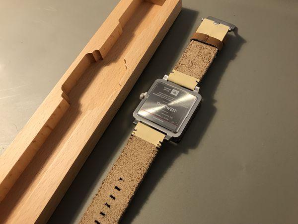 Mica Watch (wood bezel)