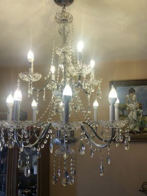 Beautiful chandelier for a beautiful home for Sale in Aurora, CO