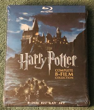 HARRY POTTER COMPLETE 8-FILM COLLECTION BLU-RAY SEALED for Sale in Countryside, IL