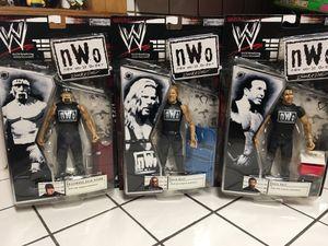 WWE NWO lot of 3 2002 Hulk Hogan, Scott Hall, Kevin Nash for Sale for sale  Winston-Salem, NC