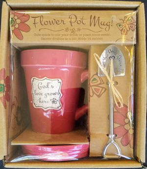 Flower Pot mug Gods love for Sale in Tampa, FL