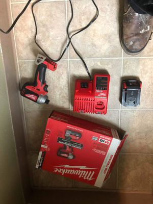 Brand NEW Milwaukee m18 compact brushless impact driver kit for Sale in Brooks, OR