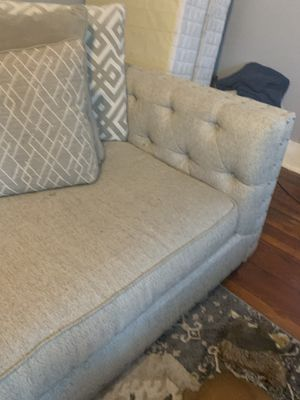 Beige and grey couch. for Sale in Bartow, FL