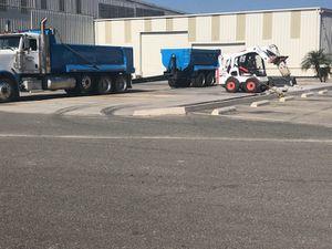 Bobcat peterbilt demolition dump truck haul for Sale in Chino, CA