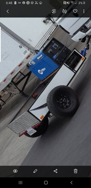 bobcat 225 miller welder whit trailer for Sale in Montclair, CA