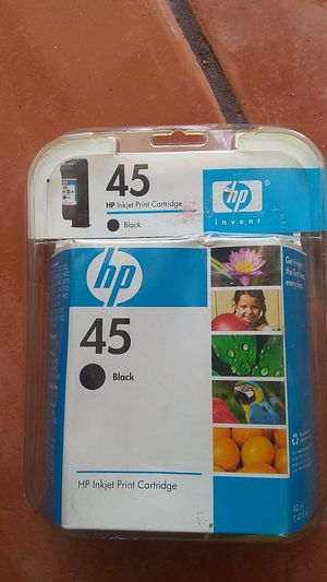 HP inkjet cartridge 45 black for Sale in Davie, FL