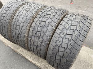 (4) 35x12.50R20 Toyo Open Country A/T - $325 for Sale in Santa Ana, CA