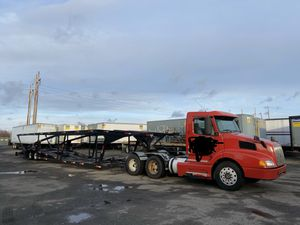 7 car carrier volvo truck quick loader wally-mo trailer for Sale in Peabody, MA