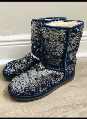 Sequin UGGS Boots Size 7 for Sale in Queens, NY