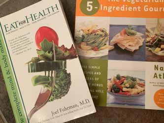 Pair Of Healthy Cookbooks for Sale in Chicago,  IL