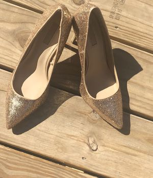 Gold sparkle heels for Sale in Columbus, OH