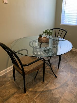 Glass Top Kitchen Table For Sale for Sale in Newport News, VA