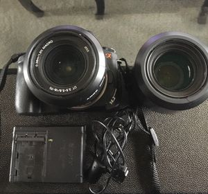 Sony a350 with case for Sale in Kent, WA