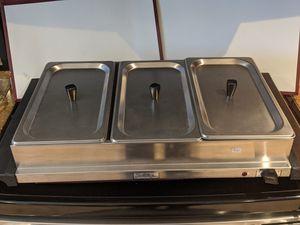 Broil king 3 bay steamer tray for Sale in Chandler, AZ