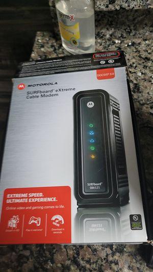 Motorola cable modem for Sale in Denver, CO