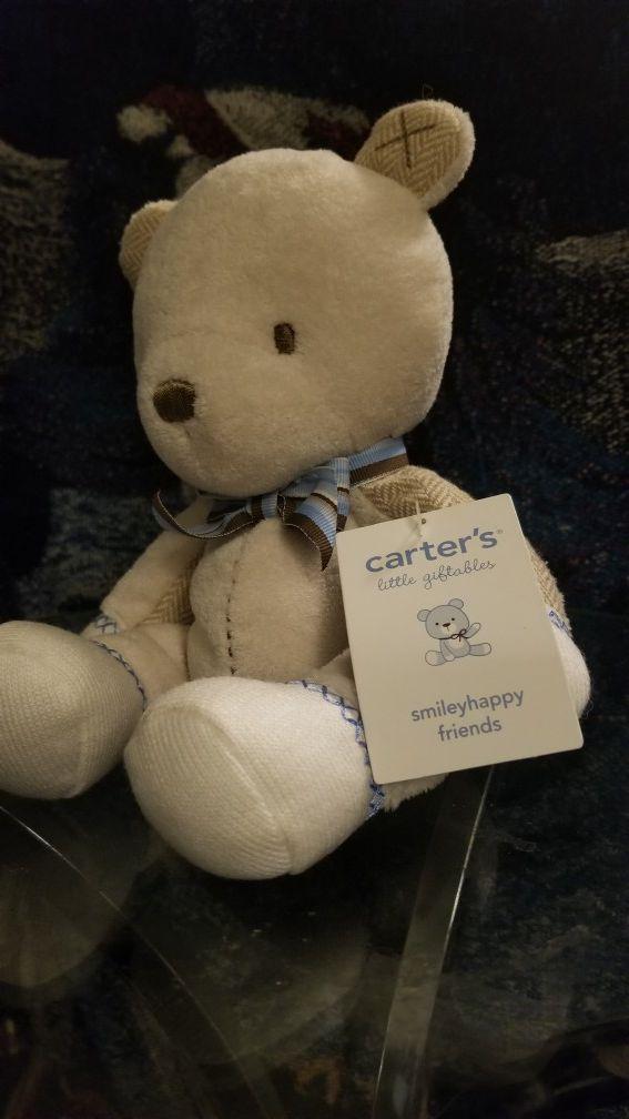 Carter's teddy bear
