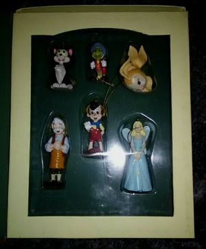 Christmas ornaments, Disney ornaments, Pinocchio Ornament books for Sale in Los Angeles, CA