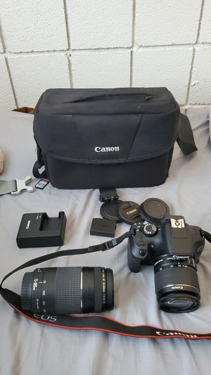 Canon EOS Rebel T6 for Sale in St. Peters, MO