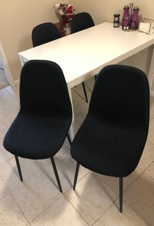 Fabric Chairs Set of 6 for Sale in Alexandria, VA